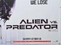 ALIEN VS PREDATOR (Bottom Right) Cinema Quad Movie Poster