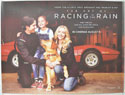THE ART OF RACING IN THE RAIN Cinema Quad Movie Poster