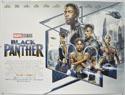 BLACK PANTHER Cinema Quad Movie Poster