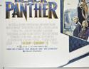 BLACK PANTHER (Bottom Left) Cinema Quad Movie Poster