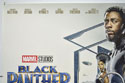 BLACK PANTHER (Top Left) Cinema Quad Movie Poster