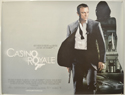 007 : CASINO ROYALE Cinema Quad Movie Poster