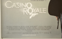 007 : CASINO ROYALE (Bottom Left) Cinema Quad Movie Poster
