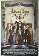 ADDAMS FAMILY VALUES Cinema One Sheet Movie Poster