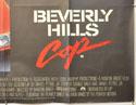 BEVERLY HILLS COP (Bottom Right) Cinema Quad Movie Poster