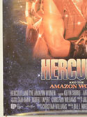 HERCULES AND THE AMAZON WOMEN (Bottom Left) Cinema One Sheet Movie Poster