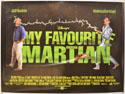 MY FAVOURITE MARTIAN Cinema Quad Movie Poster