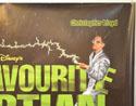 MY FAVOURITE MARTIAN (Top Right) Cinema Quad Movie Poster