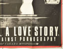 NOT A LOVE STORY (Bottom Right) Cinema Quad Movie Poster
