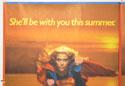 SUPERGIRL (Top Left) Cinema Quad Movie Poster