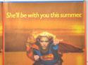 SUPERGIRL (Top Right) Cinema Quad Movie Poster