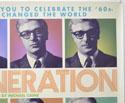 MY GENERATION (Top Right) Cinema Quad Movie Poster