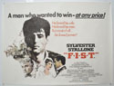 FIST Cinema Quad Movie Poster