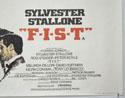 FIST (Bottom Right) Cinema Quad Movie Poster