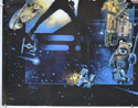 STAR WARS EPISODE VI : THE RETURN OF THE JEDI (Bottom Left) Cinema Quad Movie Poster