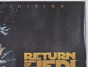 STAR WARS EPISODE VI : THE RETURN OF THE JEDI (Top Right) Cinema Quad Movie Poster