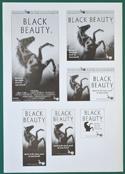 Black Beauty -  Ad Blocks Sheet