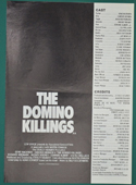 Domino Killings - Press Book - Front