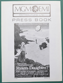 Ryan's Daughter <p><i> Original 8 Page Cinema Exhibitors Campaign Press Book </i></p>