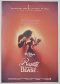 Beauty And The Beast <p><i> Original Cinema Exhibitor's Synopsis / Credits Booklet </i></p>