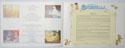 CINDERELLA Cinema Exhibitors Synopsis Credits Booklet - INSIDE