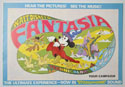 Fantasia (1976 re-release) <p><i> Original 12 Page Cinema Exhibitors Campaign Press Book  </i></p>