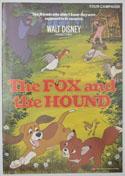 THE FOX AND THE HOUND Cinema Exhibitors Campaign Press Book
