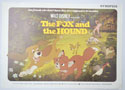Fox And The Hound (The) <p><i> Original Cinema Exhibitor's Synopsis / Credits Booklet </i></p>