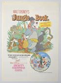 Jungle Book (The) / Mickey's Christmas Carol  <p><i> Original Cinema Exhibitor's Synopsis / Credits Booklet </i></p>