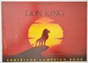 THE LION KING Cinema Exhibitors Campaign Press Book