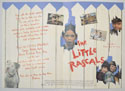 THE LITTLE RASCALS Cinema Exhibitors Synopsis Credits Booklet - INSIDE