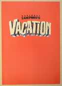 NATIONAL LAMPOON'S VACATION Cinema Exhibitors Synopsis Credits Booklet