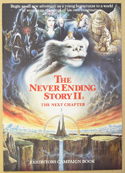 THE NEVER ENDING STORY II Cinema Exhibitors Campaign Press Book