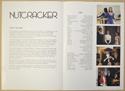 NUTCRACKER Cinema Exhibitors Synopsis Credits Booklet - BACK