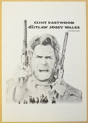 Outlaw Josey Wales (The) <p><i> Original Cinema Exhibitor's Synopsis / Credits Booklet </i></p>