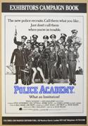 POLICE ACADEMY Cinema Exhibitors Campaign Press Book