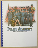 Police Academy <p><i> Original 35 Page Production Information Document </i></p>