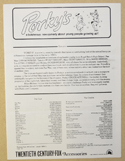PORKY'S Cinema Exhibitors Campaign Press Book
