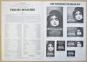 PRIVATE BENJAMIN Cinema Exhibitors Campaign Press Book - BACK