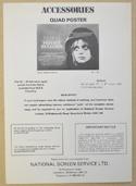 PRIVATE BENJAMIN Cinema Exhibitors Campaign Press Book - INSIDE