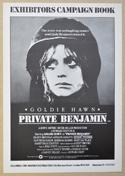 PRIVATE BENJAMIN Cinema Exhibitors Campaign Press Book