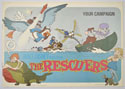 Rescuers (The) <p><i> Original 22 Page Cinema Exhibitors Campaign Press Book </i></p>