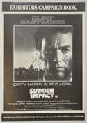 SUDDEN IMPACT Cinema Exhibitors Campaign Press Book