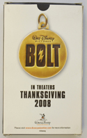 BOLT - Promotional Playing Cards - BACK