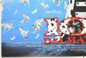 102 DALMATIANS (Bottom Left) Cinema Quad Movie Poster