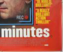 15 MINUTES (Bottom Right) Cinema Quad Movie Poster