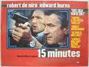 15 MINUTES Cinema Quad Movie Poster