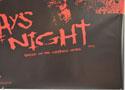 30 DAYS OF NIGHT (Bottom Right) Cinema Quad Movie Poster