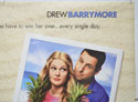 50 FIRST DATES (Top Right) Cinema Quad Movie Poster
