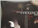 A HISTORY OF VIOLENCE (Top Left) Cinema Quad Movie Poster
